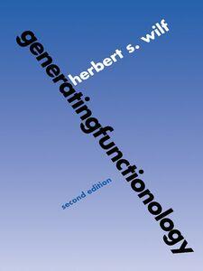Foto Cover di generatingfunctionology, Ebook inglese di Herbert S. Wilf, edito da Elsevier Science