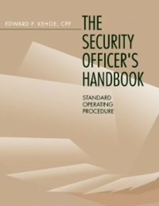 Ebook in inglese Security Officer's Handbook Kehoe, Edward