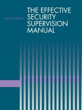 Effective Security Supervision Manual
