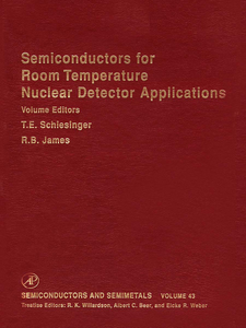 Ebook in inglese Semiconductors for Room Temperature Nuclear Detector Applications -, -