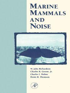 Foto Cover di Marine Mammals and Noise, Ebook inglese di AA.VV edito da Elsevier Science