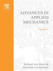 ADVANCES IN APPLIED MECHANICS VOLUME 1
