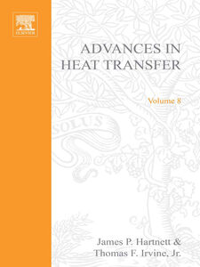 Ebook in inglese ADVANCES IN HEAT TRANSFER VOLUME 8 -, -
