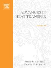 ADVANCES IN HEAT TRANSFER VOLUME 10