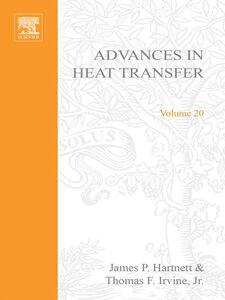 Foto Cover di ADVANCES IN HEAT TRANSFER VOLUME 20, Ebook inglese di  edito da Elsevier Science