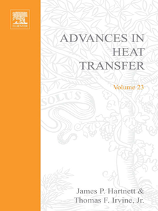 Ebook in inglese ADVANCES IN HEAT TRANSFER VOLUME 23 -, -