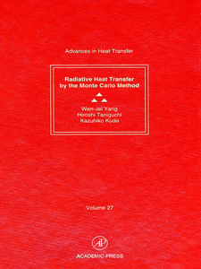 Ebook in inglese Radiative Heat Transfer by the Monte Carlo Method -, -