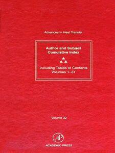 Ebook in inglese Cumulative Index -, -