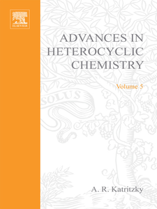 Ebook in inglese ADVANCES IN HETEROCYCLIC CHEMISTRY V 5 -, -