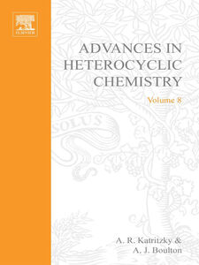 Foto Cover di ADVANCES IN HETEROCYCLIC CHEMISTRY V 8, Ebook inglese di  edito da Elsevier Science