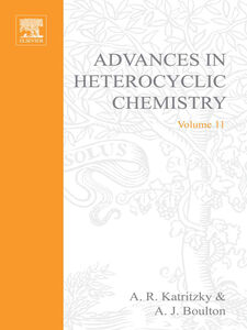 Foto Cover di ADVANCES IN HETEROCYCLIC CHEMISTRY V11, Ebook inglese di  edito da Elsevier Science