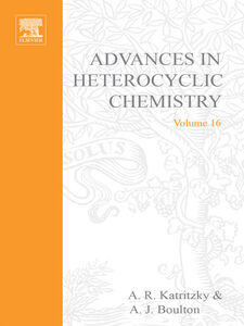 Foto Cover di ADVANCES IN HETEROCYCLIC CHEMISTRY V16, Ebook inglese di  edito da Elsevier Science