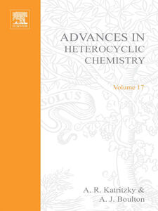 Ebook in inglese ADVANCES IN HETEROCYCLIC CHEMISTRY V17