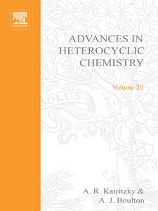 Foto Cover di ADVANCES IN HETEROCYCLIC CHEMISTRY V20, Ebook inglese di  edito da Elsevier Science