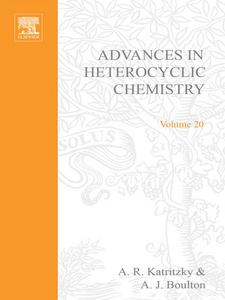 Ebook in inglese ADVANCES IN HETEROCYCLIC CHEMISTRY V20 -, -