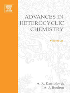 Foto Cover di ADVANCES IN HETEROCYCLIC CHEMISTRY V25, Ebook inglese di  edito da Elsevier Science