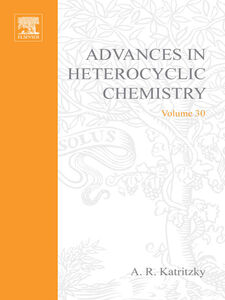 Foto Cover di ADVANCES IN HETEROCYCLIC CHEMISTRY V30, Ebook inglese di  edito da Elsevier Science