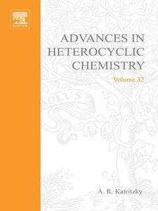 Foto Cover di ADVANCES IN HETEROCYCLIC CHEMISTRY V32, Ebook inglese di  edito da Elsevier Science