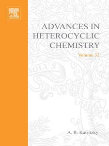 Ebook in inglese ADVANCES IN HETEROCYCLIC CHEMISTRY V32 -, -