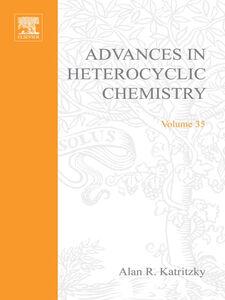 Ebook in inglese ADVANCES IN HETEROCYCLIC CHEMISTRY V35