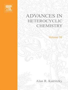 Foto Cover di ADVANCES IN HETEROCYCLIC CHEMISTRY V38, Ebook inglese di  edito da Elsevier Science