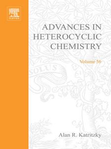 Ebook in inglese ADVANCES IN HETEROCYCLIC CHEMISTRY V56 -, -
