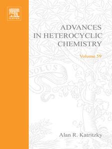 Foto Cover di Advances in Heterocyclic Chemistry, Ebook inglese di  edito da Elsevier Science
