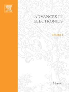 Ebook in inglese ADVANCES ELECTRONC &ELECTRON PHYSICS V1 -, -