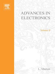 Ebook in inglese ADVANCES ELECTRONC &ELECTRON PHYSICS V2 -, -