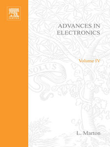 Ebook in inglese ADVANCES ELECTRONIC &ELECTRON PHYSICS V4