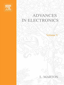 Ebook in inglese ADVANCES ELECTRONIC &ELECTRON PHYSICS V5 -, -