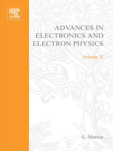 Ebook in inglese ADVANCES ELECTRONIC &ELECTRON PHYSICS V10 -, -
