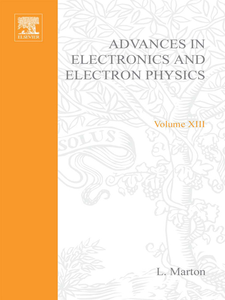 Ebook in inglese ADVANCES ELECTRONC &ELECTRON PHYSICS V13 -, -