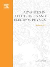 ADVANCES ELECTRONC &ELECTRON PHYSICS V15