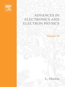 Ebook in inglese ADV ELECTRONICS ELECTRON PHYSICS V18 -, -