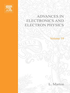 Ebook in inglese ADVANCES ELECTRONC &ELECTRON PHYSICS V19 -, -