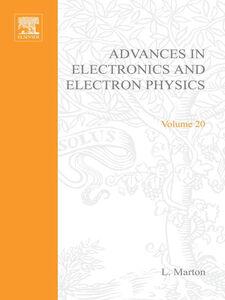 Ebook in inglese ADVANCES ELECTRONC &ELECTRON PHYSICS V20 -, -