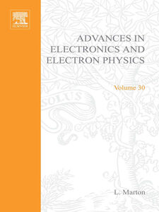 Ebook in inglese ADVANCES ELECTRONC &ELECTRON PHYSICS V30 -, -