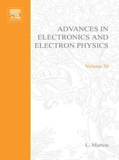 ADVANCES ELECTRONC &ELECTRON PHYSICS V30
