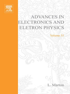 Ebook in inglese ADV ELECTRONICS ELECTRON PHYSICS V35