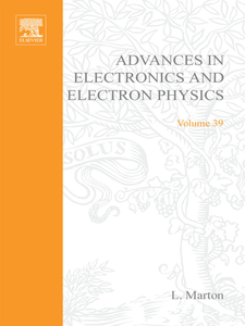 Ebook in inglese ADVANCES ELECTRONC &ELECTRON PHYSICS V39 -, -
