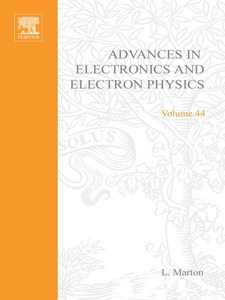 Ebook in inglese ADV ELECTRONICS ELECTRON PHYSICS V44 -, -