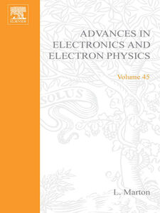 Ebook in inglese ADVANCES ELECTRONC &ELECTRON PHYSICS V45