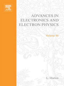 Ebook in inglese ADVANCES ELECTRONC &ELECTRON PHYSICS V46 -, -