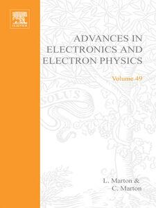 Ebook in inglese ADVANCES ELECTRONC &ELECTRON PHYSICS V49