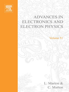 Ebook in inglese ADV ELECTRONICS ELECTRON PHYSICS V51 -, -