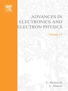 Ebook in inglese ADV ELECTRONICS ELECTRON PHYSICS V53 -, -