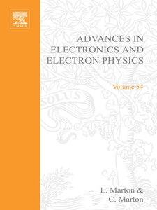Ebook in inglese ADV ELECTRONICS ELECTRON PHYSICS V54 -, -