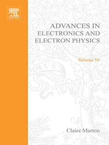 Ebook in inglese ADV ELECTRONICS ELECTRON PHYDICS V56