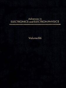 Ebook in inglese ADV ELECTRONICS ELECTRON PHYSICS V86